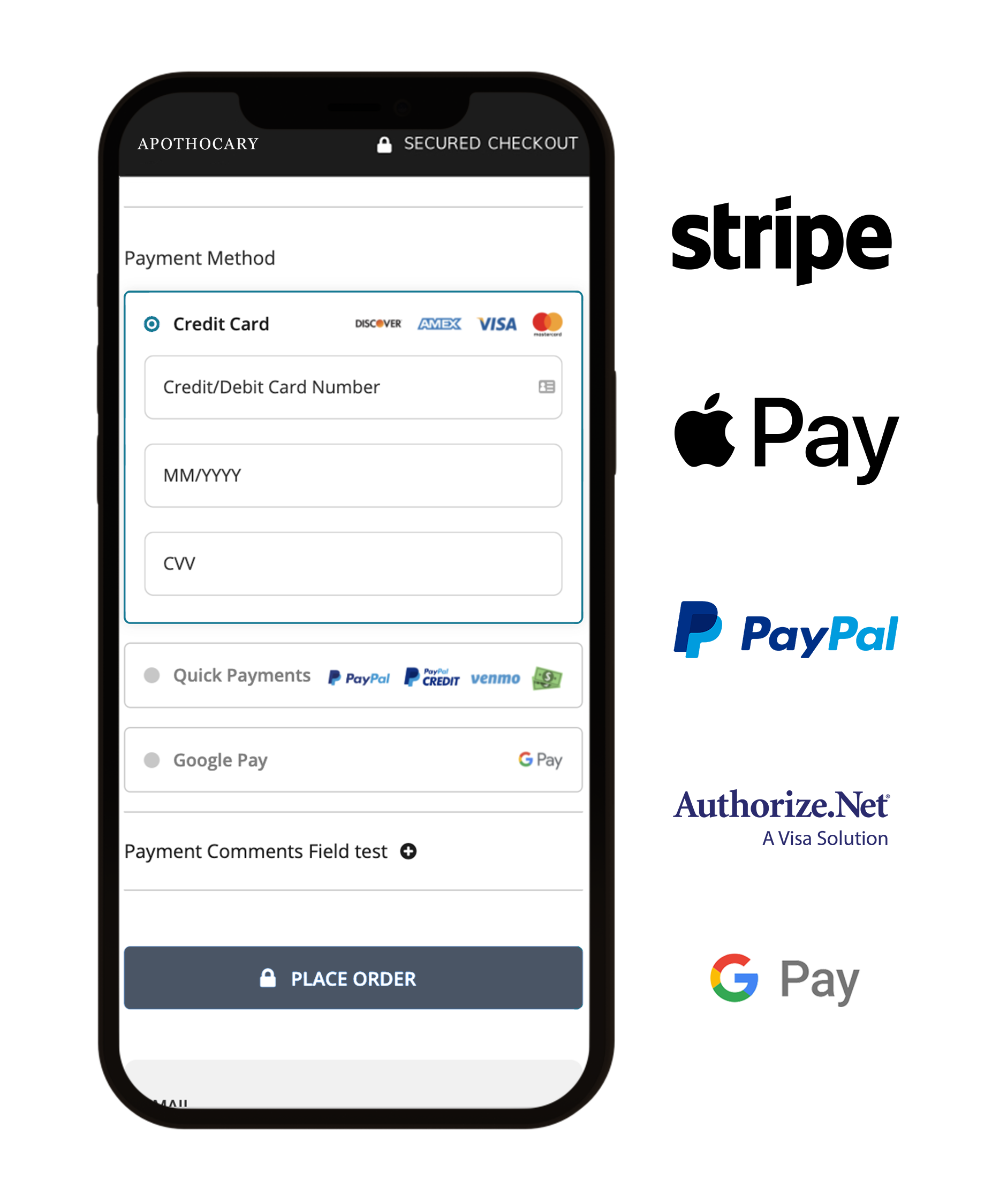 120 Payment Gateways for Magento, BigCommerce, WooCommerce, and Shopify