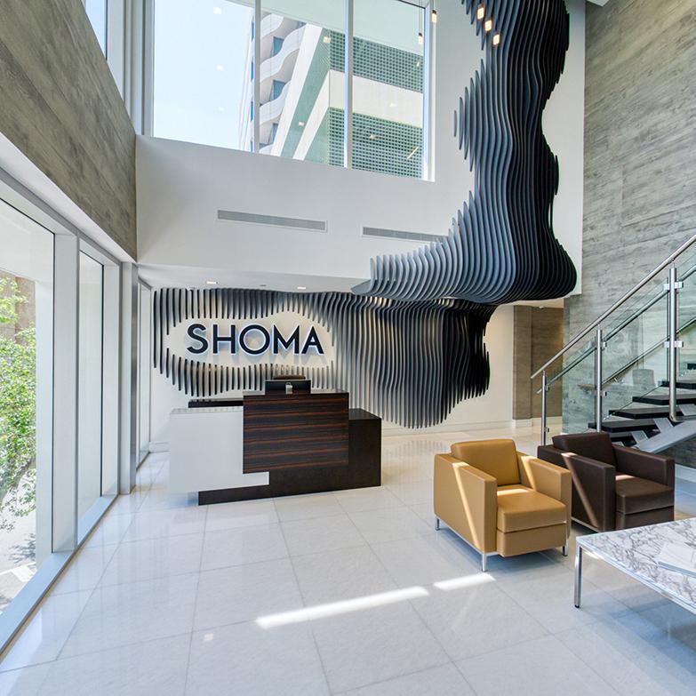 Reception at Shomagroup