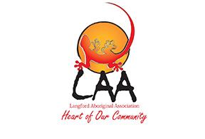 Langford Aboriginal Association logo