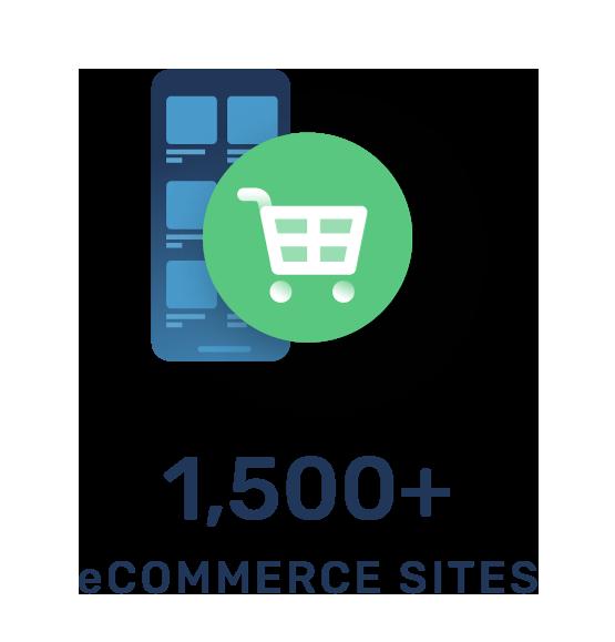 1500+ eCommerce SItes