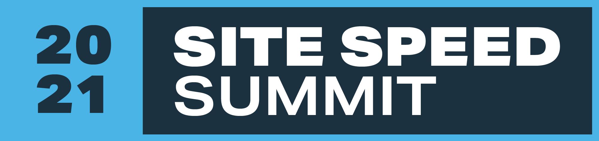 2021 Site Speed Summit Logo