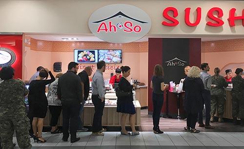 Ah-So Sushi Locations Canada Ontario Quebec gallery 4