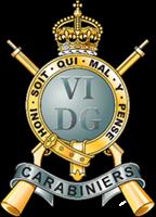 Carabiniers Regimental Cap Badge