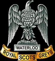 ROYAL SCOTS Greys Regimental Cap Badge