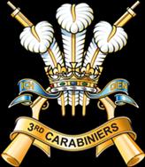 3rd Carabiniers Regimental Cap Badge