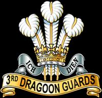 3rd Dragoon guards Regimental Cap Badge