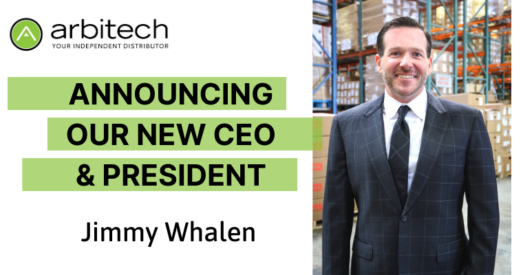 Jimmy Whalen Appointed CEO and President of Arbitech, LLC