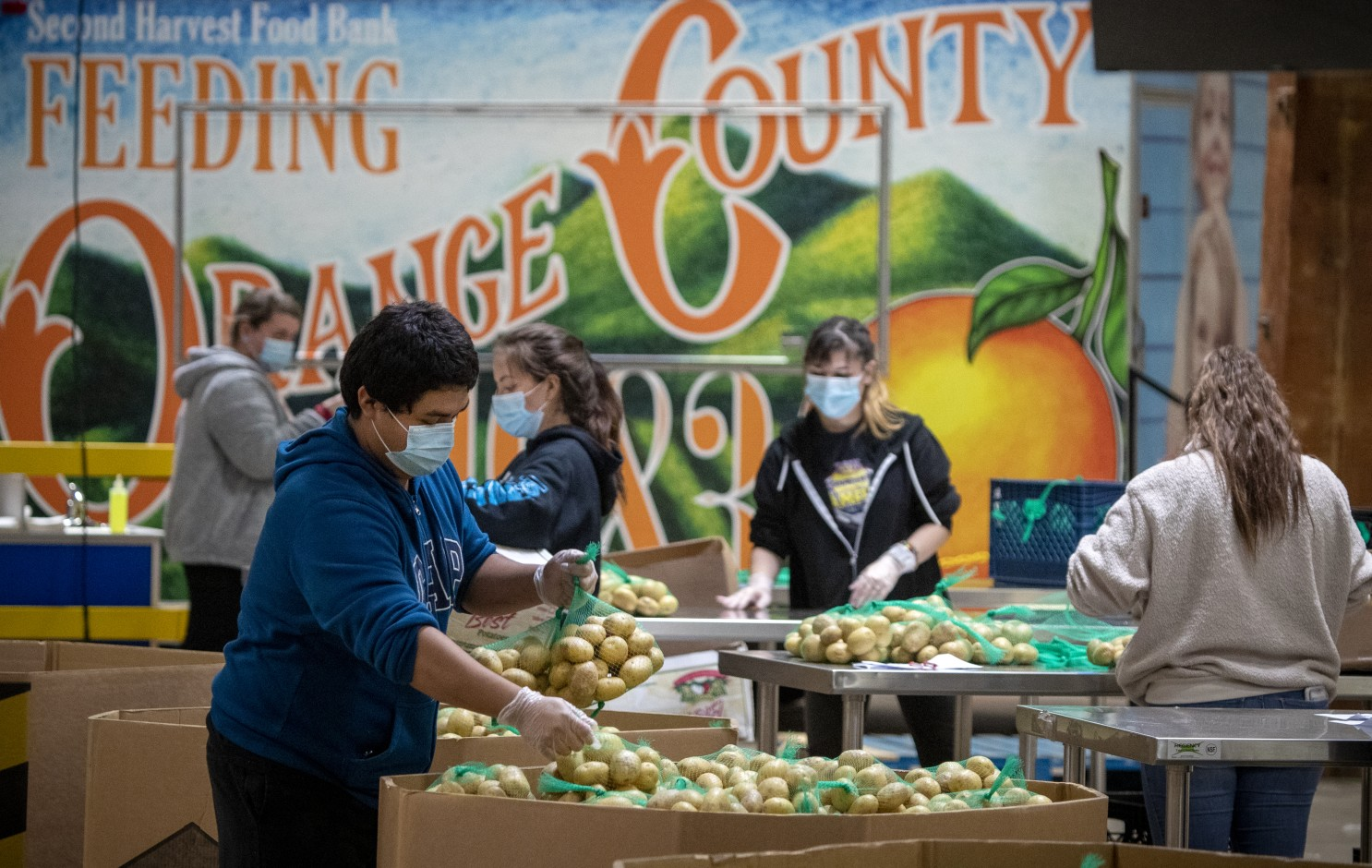 Caring for Our Community: Second Harvest Food Bank OC