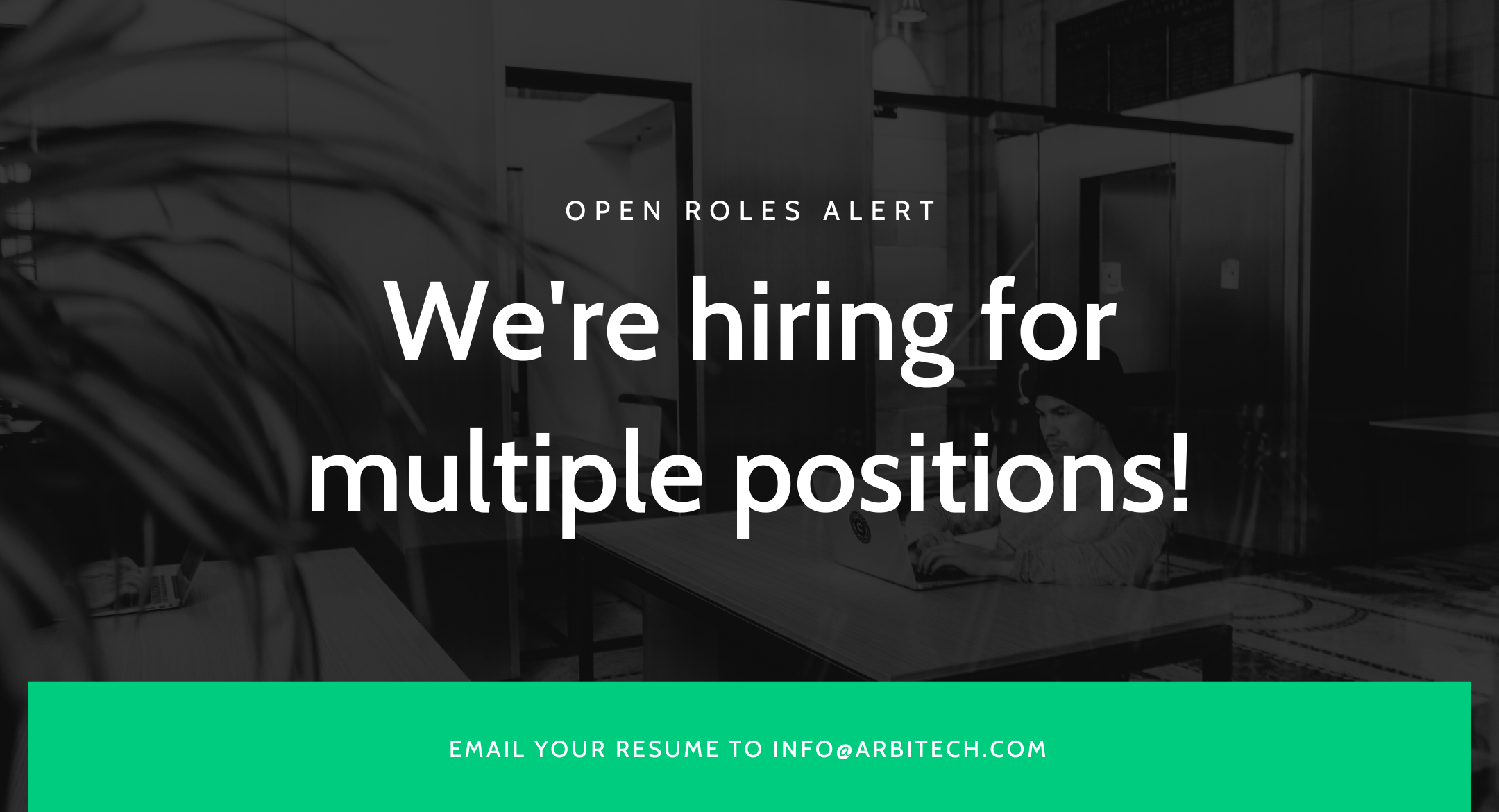 Our latest open roles