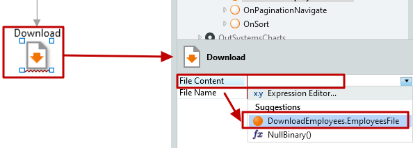 #3.16. File Content of the Download tool