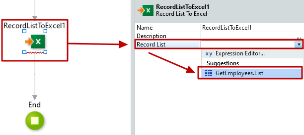 #3.10. Excel Record List bounded to the Query (Aggregate)