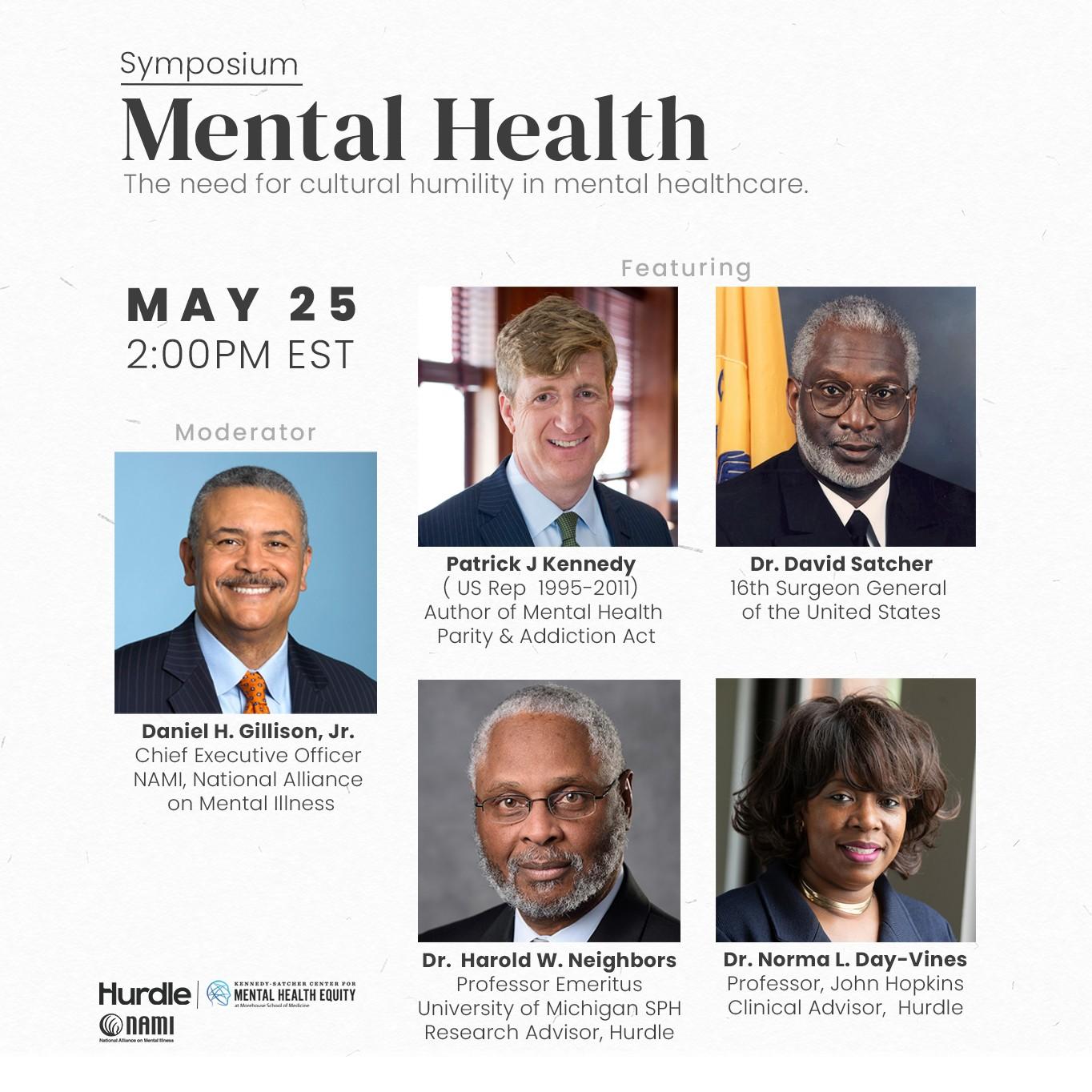 black mental health symposium poster