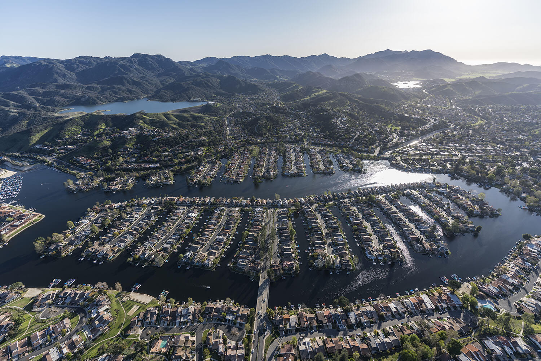 An image of the coastline in Oxnard California