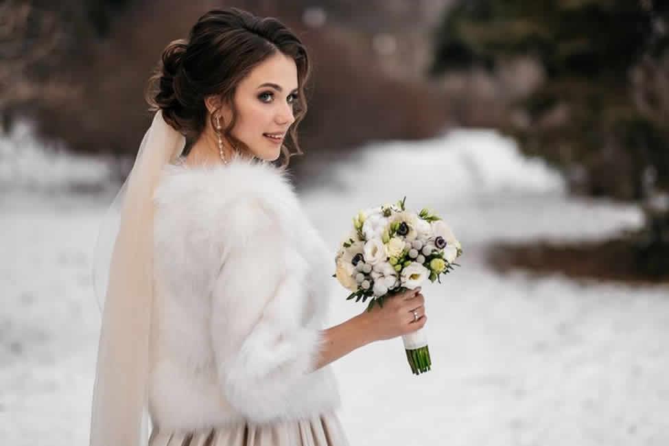 seasonal wedding dress
