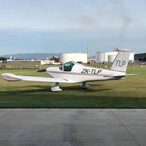 Pazmany PL2 at Tauranga Airport