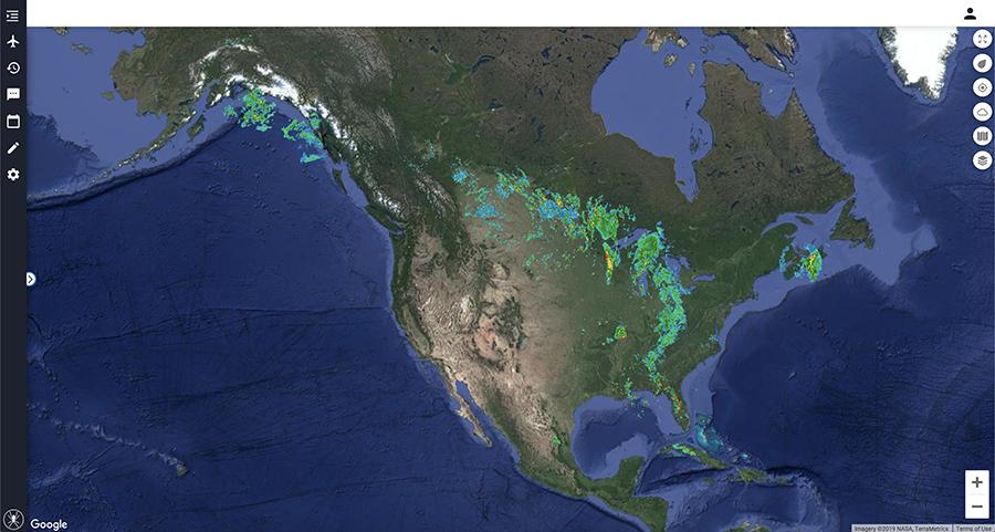 North America Radar 900