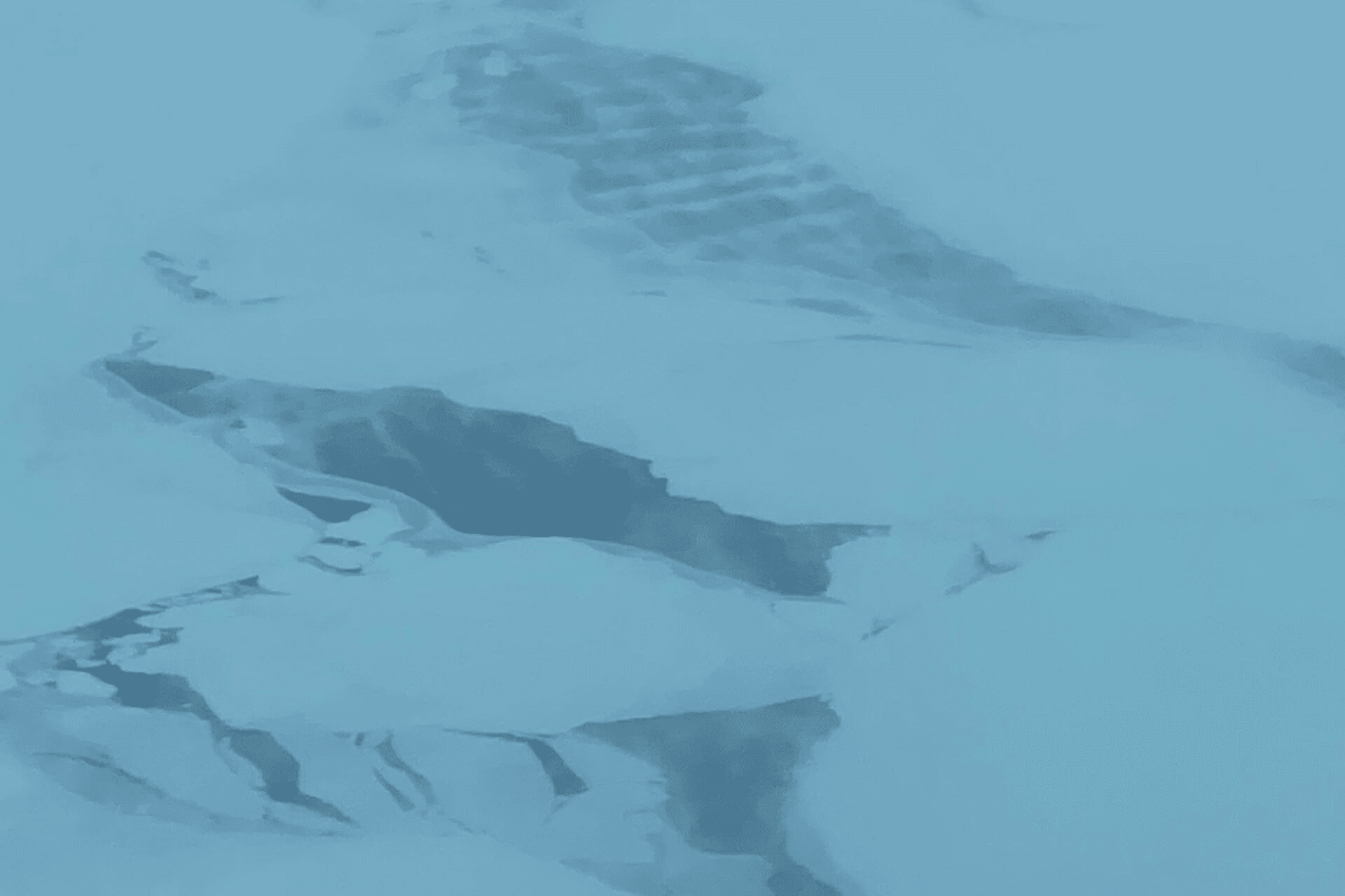 Photo of the North Pole from above
