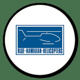 Blue Hawaiian Helicopters company logo