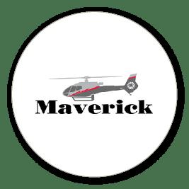 Maverick Helicopters company logo