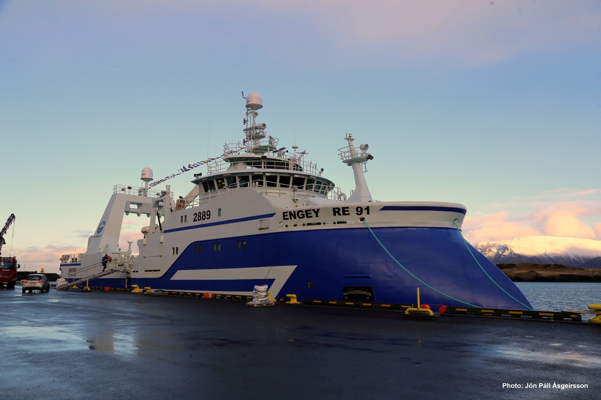 HB Grandi's fresh fish trawler Engey RE 91 will carry all of the latest technology to ensure the best possible fresh fish with un paralleled automation.