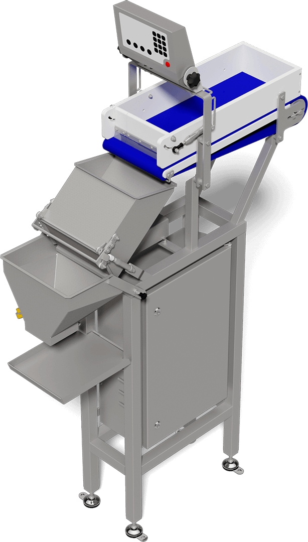 Advanced seafood packaging machines, technologies for packing lines and batching scales for shrimp and other shellfish - reduced labor cost and processing time.
