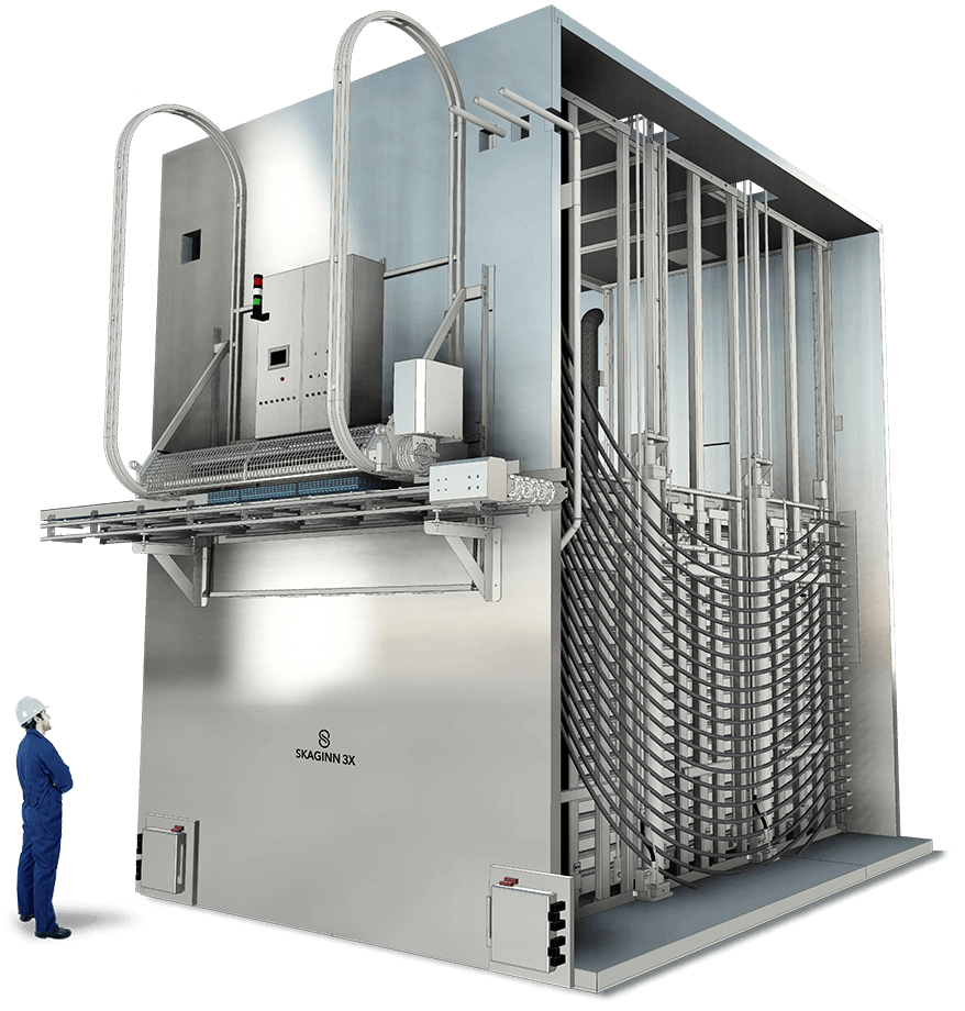 Skaginn 3X offers industry-leading equipment when it comes to non-pressure contact freezing. Customers looking to transition from the now discontinued Amerio plate freezers can contact our support team to discuss how Skaginn 3X technology could be the best option when renewing equipment.
