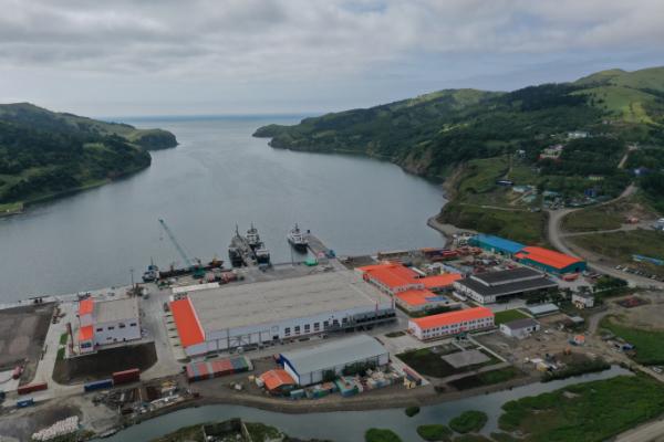 Gidrostroy's new state-of-the-art pelagic plant on Shikotan Island