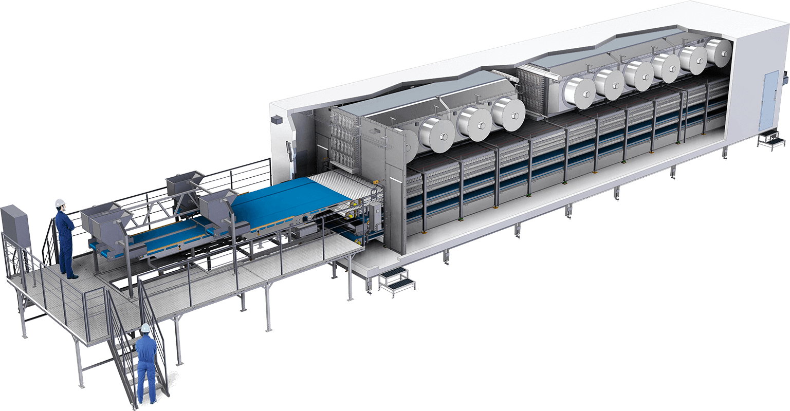 IQF Tunnel Freezer