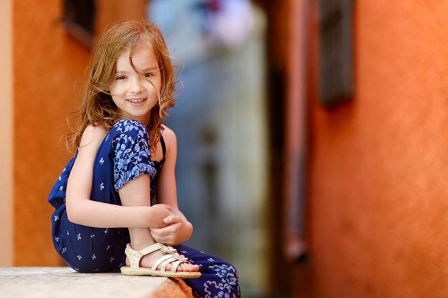 elementary girl student