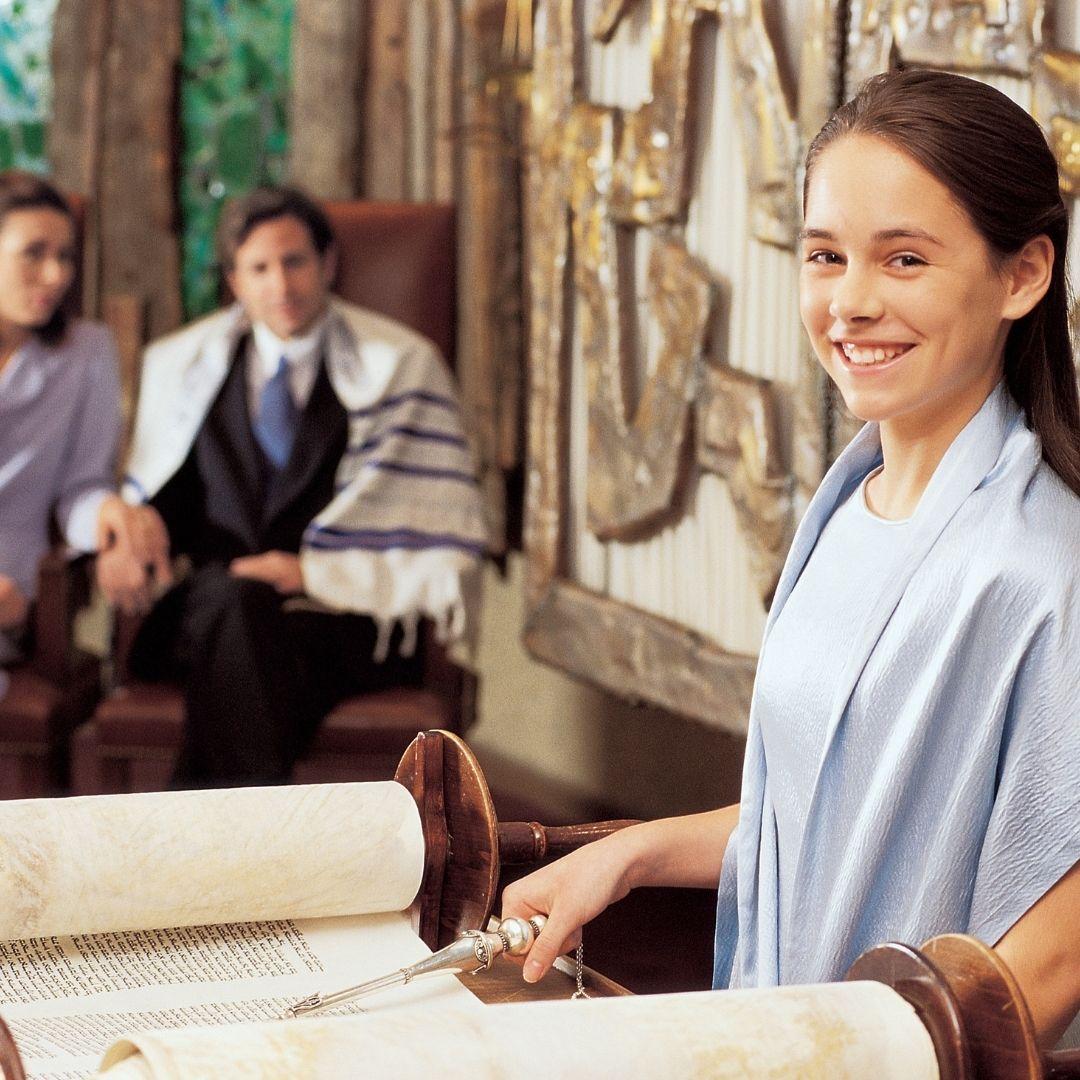 girl at bar mitzvah