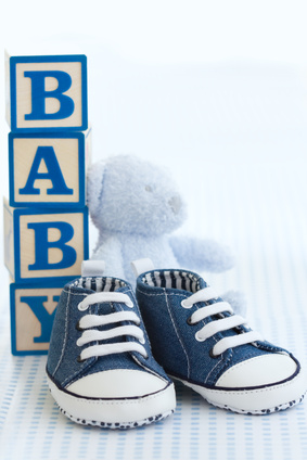 baby blocks personalized gift