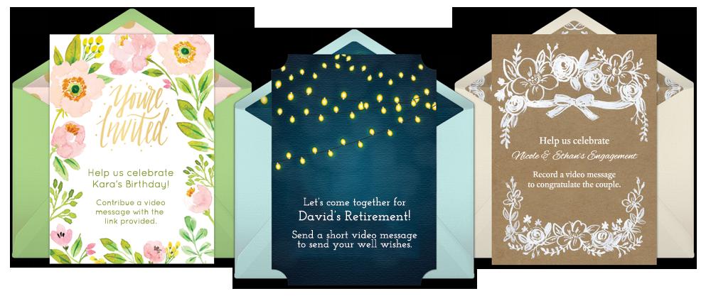 digital invitations