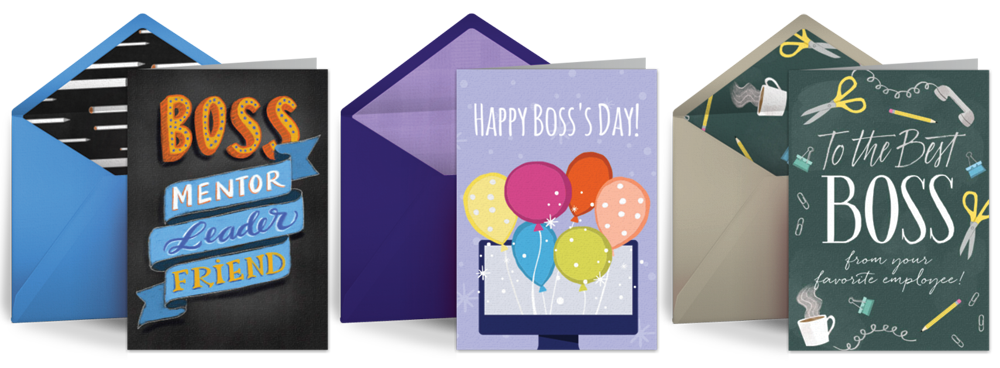 Boss's Day Cards