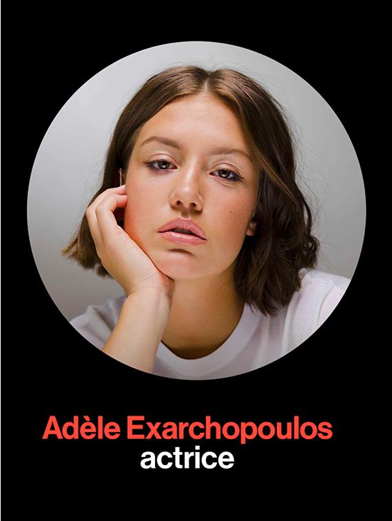 La playlist d'Adèle Exarchopoulos pour BrutX