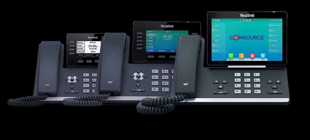 Yealink Cloud PBX phones - COMSOURCE
