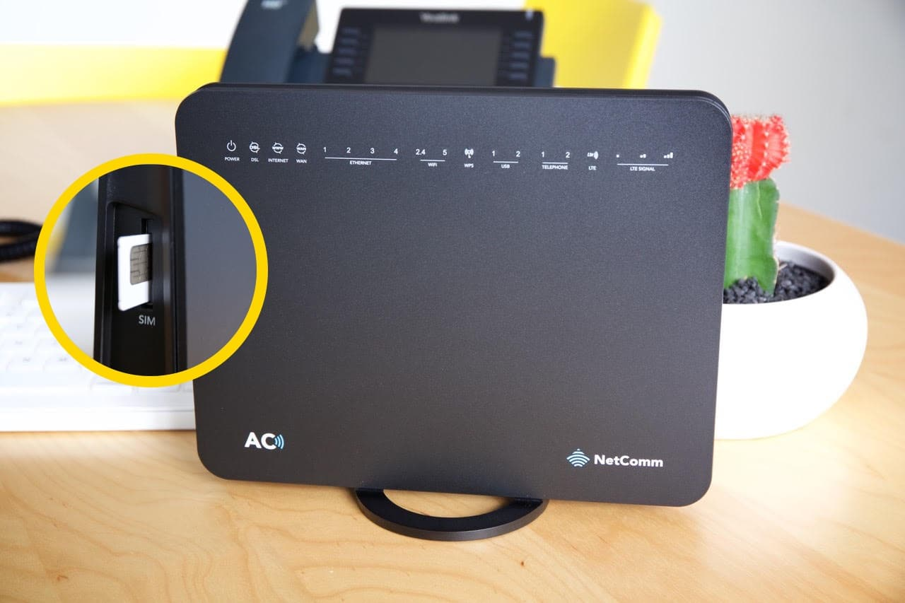4G Backup Modem