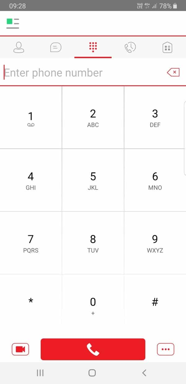 Softphone app 2