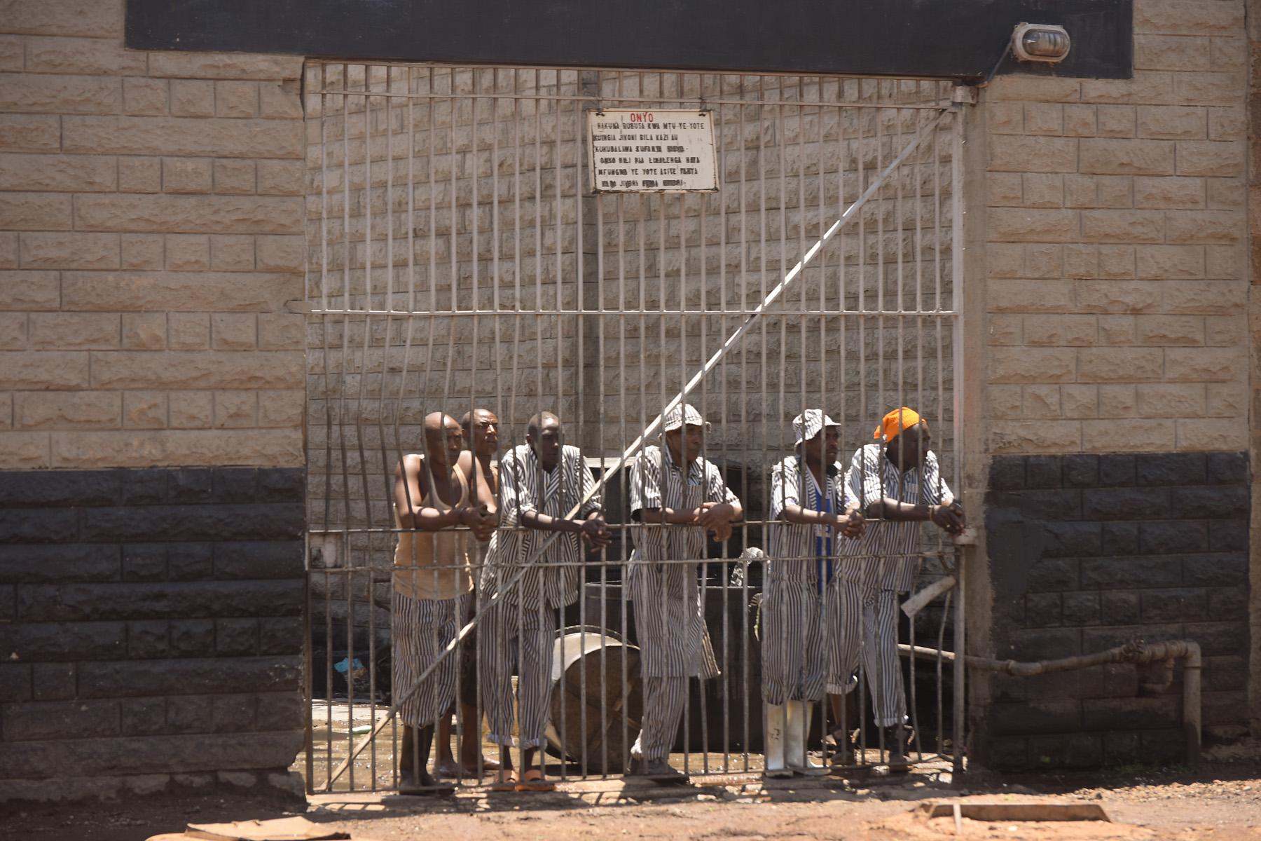 Justice Defenders prisoners waiting