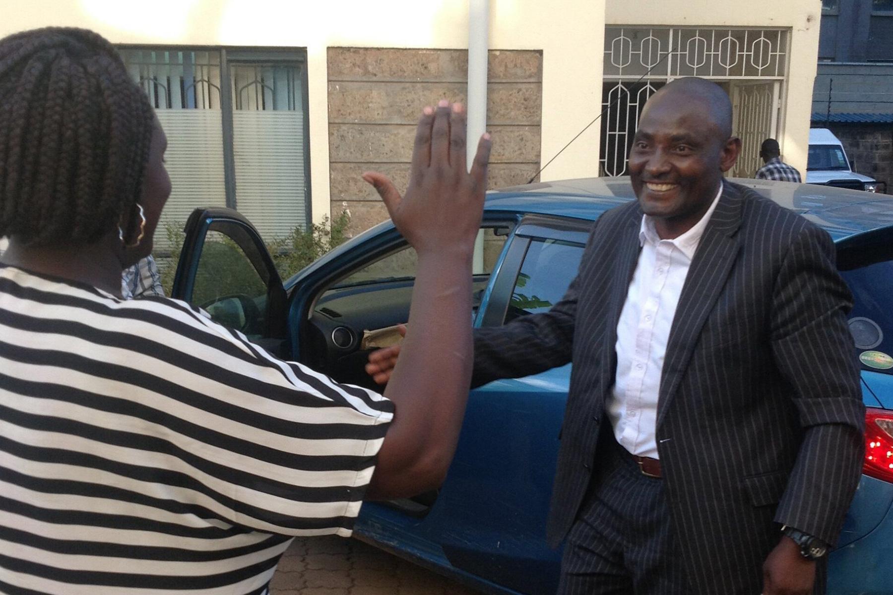 Release: Joseph Karanja, pioneer and free man