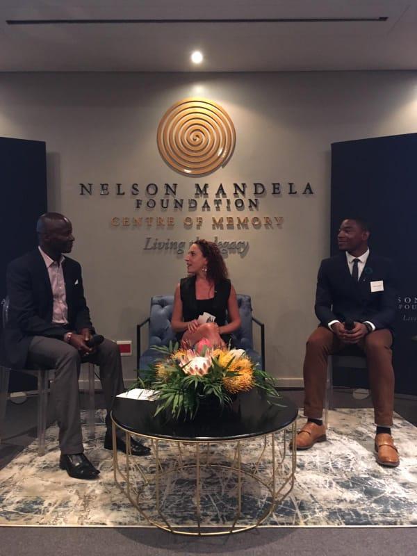 Morris Kaberia's visit to South Africa (INN)