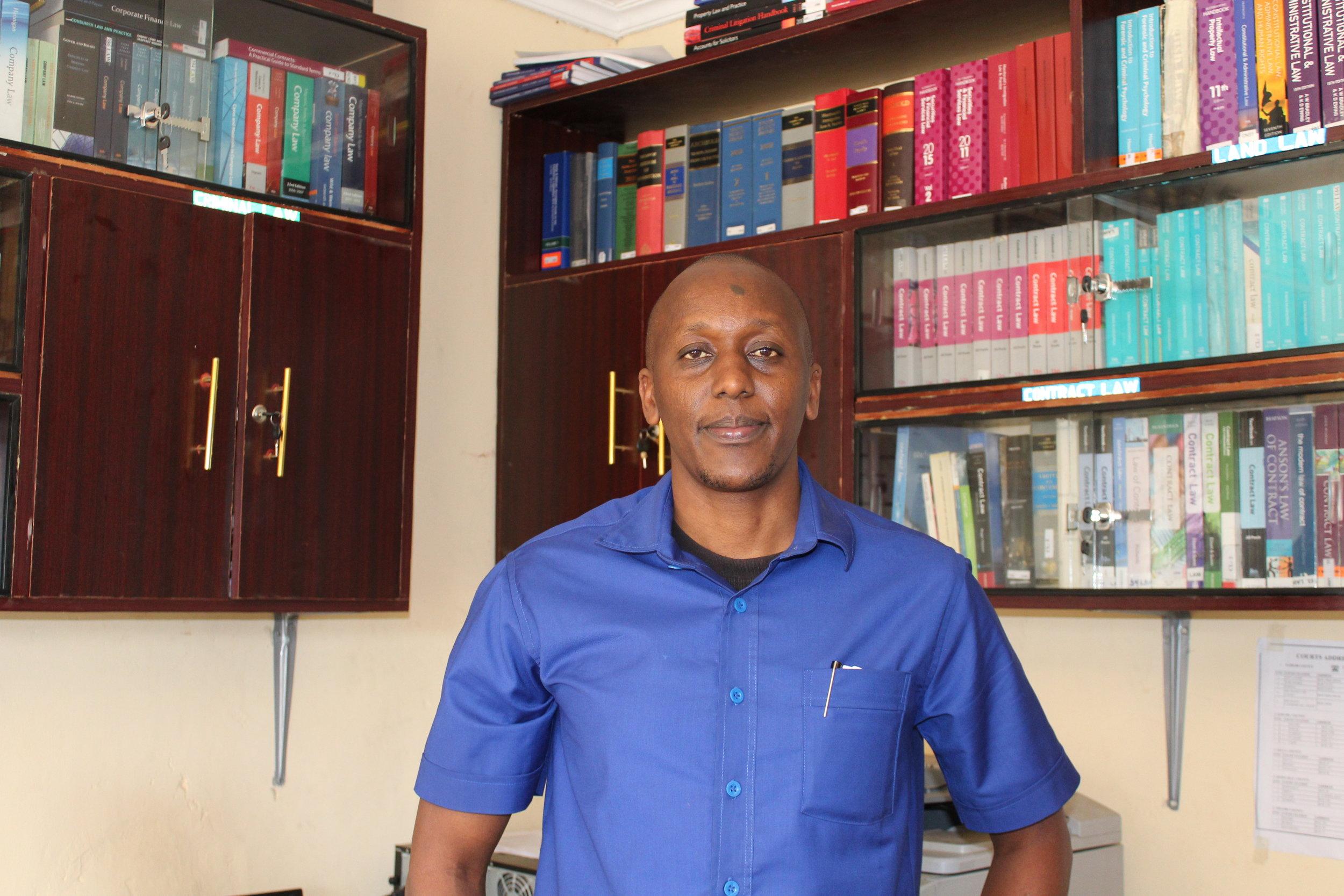 Graduates: Dickson Munene and Hamisi Mzari