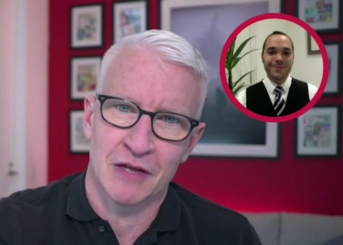 CNN Full Circle – Alexander McLean talks with Anderson Cooper