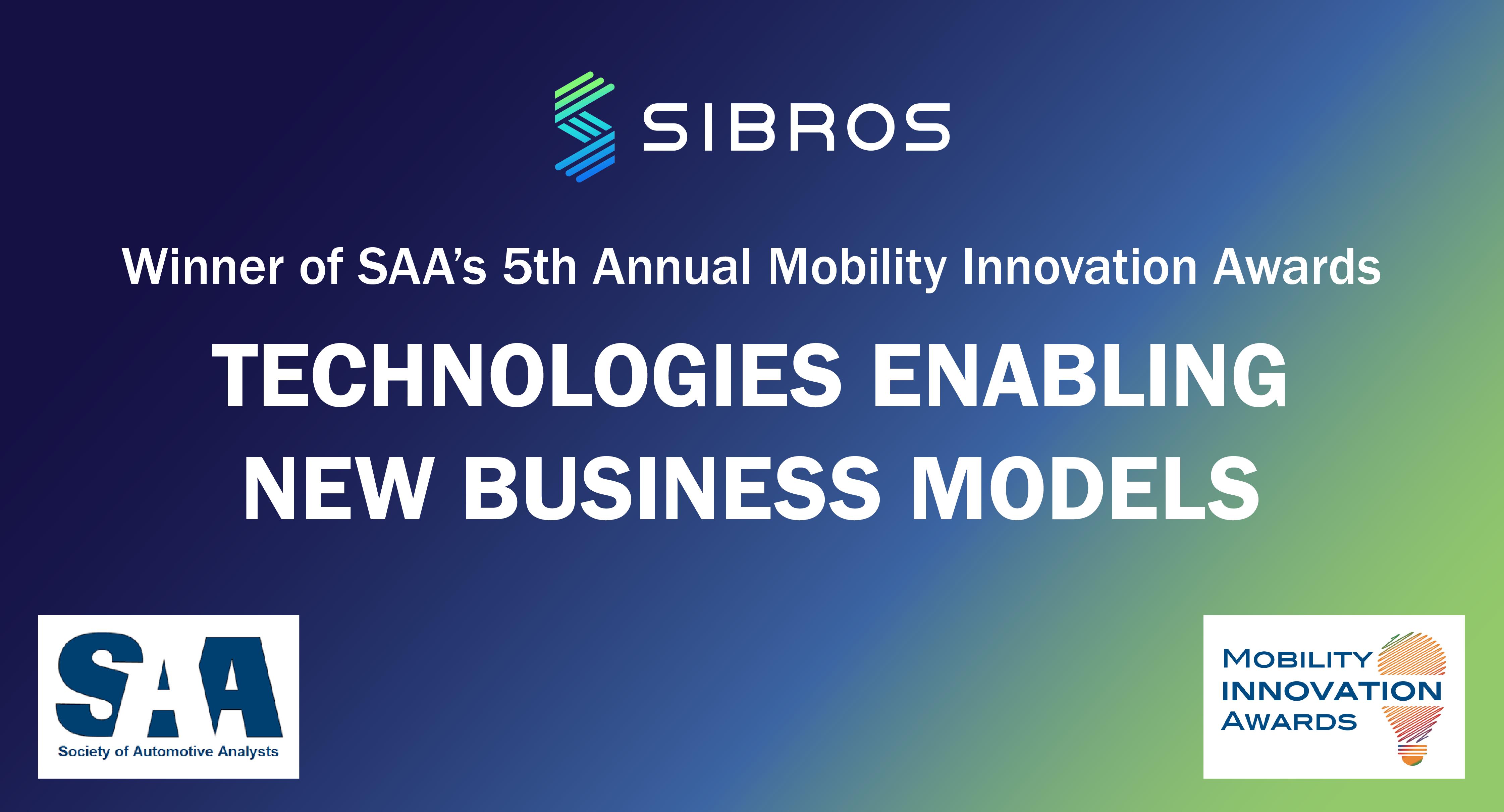 SAA Announces the 2020 Mobility Innovation Award Winners