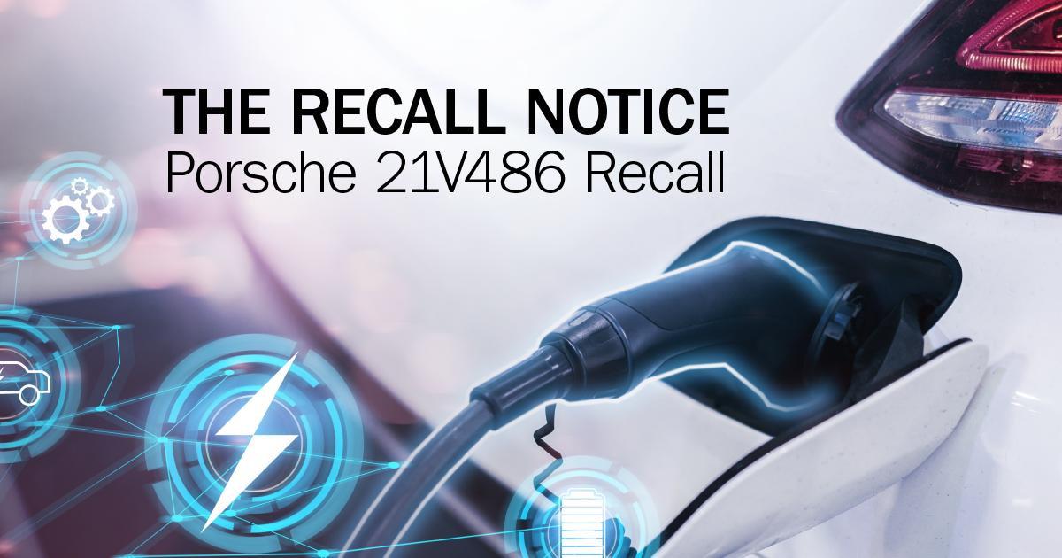 Porsche Taycan Recall NHTSA 21V486