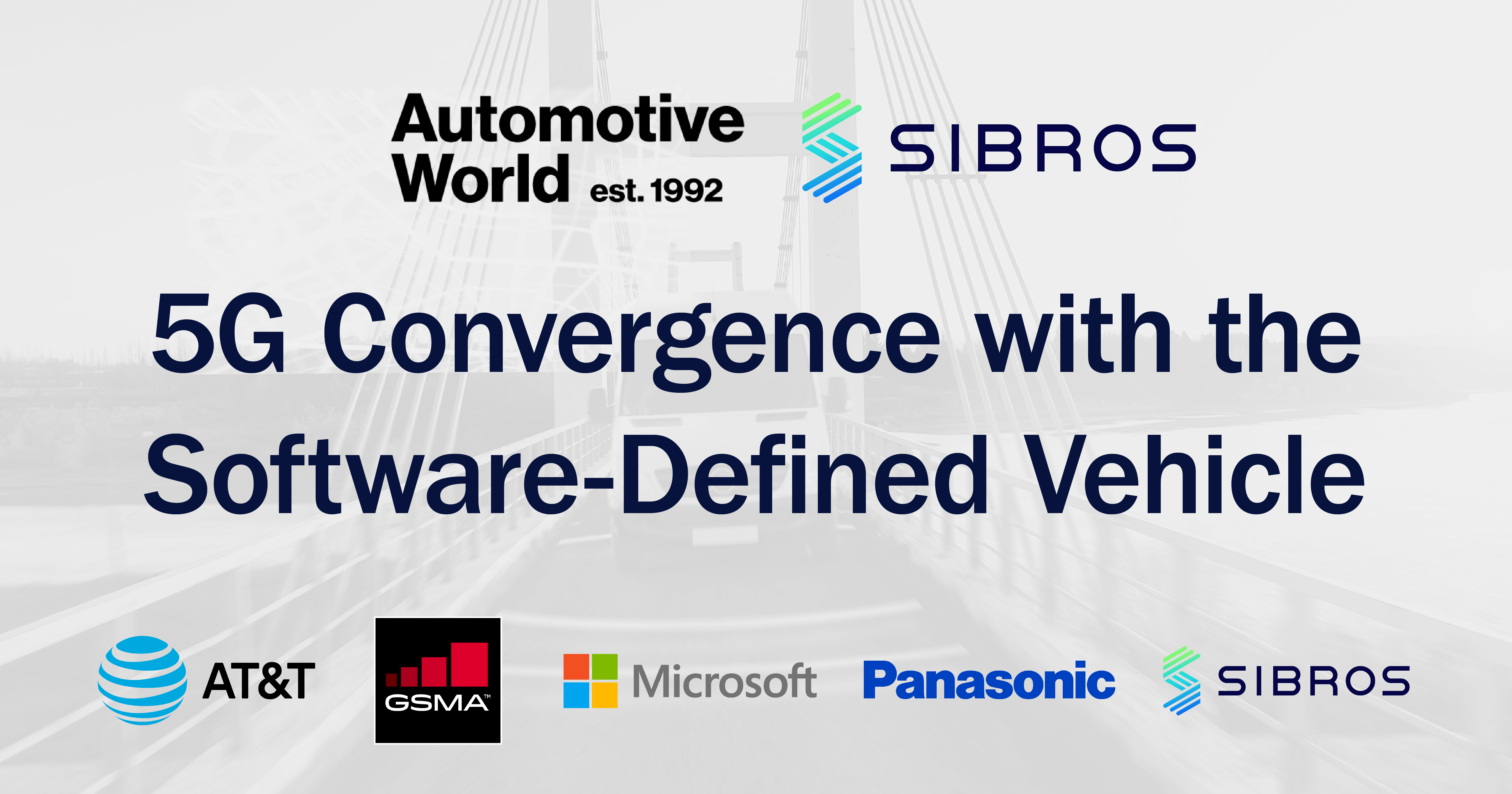 Automotive World Webinar: 5G Convergence with the Software Defined Vehicle