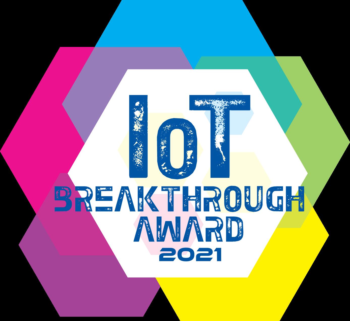 IOT Breakthrough badge