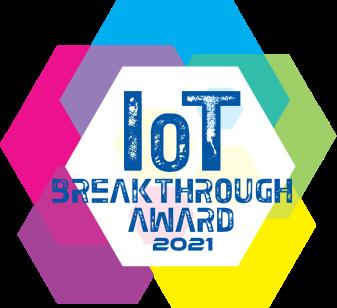 IOT Breakthrough award badge