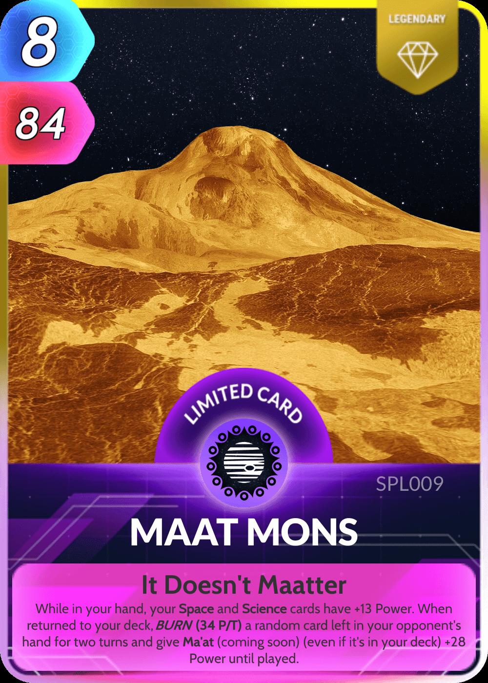 Maat Mons