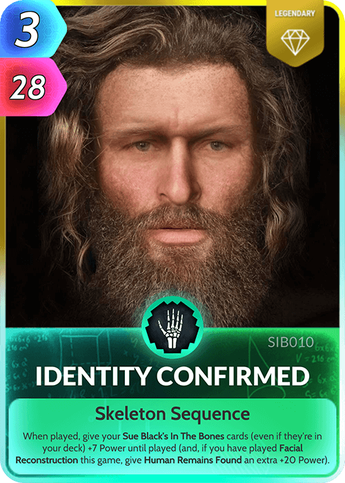 Identity Confirmed
