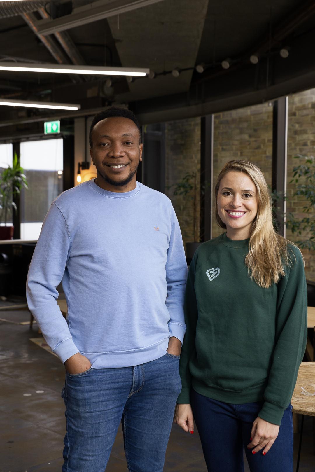 Jossy Onwude & Elena Mustatea, founders of Bold Health